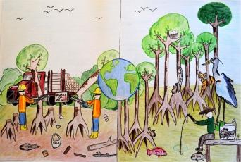 Deeptanava Roy / USA / Age 9
