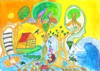 Nevisha Thareja / India / Age 9