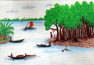 Suvajit Chakrobarti / Bangladesh / Age 15 / Laudobe Banishanta High School